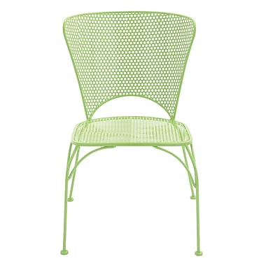Cole & Grey Patio Dining Chair ; Spring Green