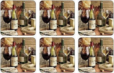 Pimpernel Artisanal Wine Coaster (Set of 6) WYF078277895852