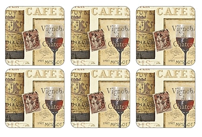 Pimpernel The French Cellar Coaster (Set of 6) WYF078277895868