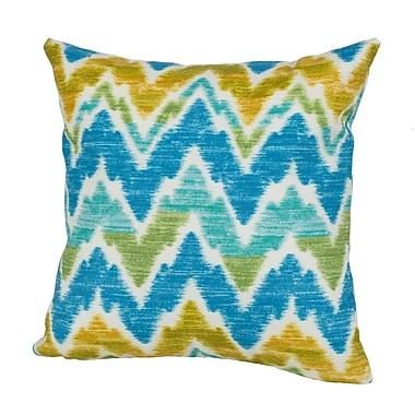Rennie & Rose Design Group Tiago Indoor/Outdoor Throw Pillow; 17'' H x 17'' W x 4'' D