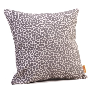 Rennie & Rose Design Group Pebbles Throw Pillow; 17'' H x 17'' W x 4'' D