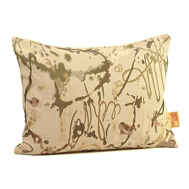 Rennie & Rose Design Group Drip Painting Boudoir/Breakfast Pillow; Fall Desert