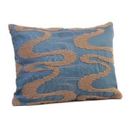 Rennie & Rose Design Group ViceroyBoudoir/Breakfast Pillow; Sandstone