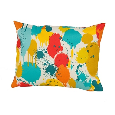 Rennie & Rose Design Group Neddick Outdoor Lumbar Pillow; Multi