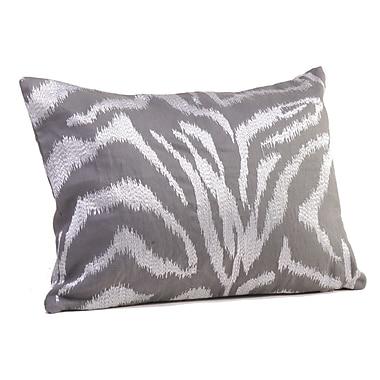 Rennie & Rose Design Group Farrah Boudoir/Breakfast Pillow; Steel