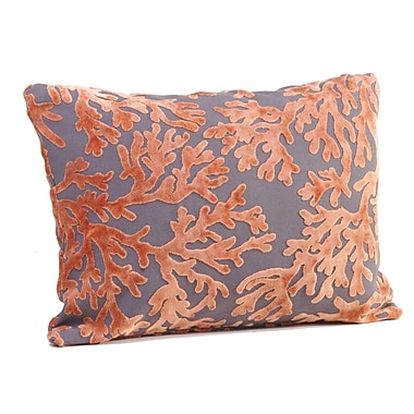 Rennie & Rose Design Group St. Tropez Boudoir/Breakfast Pillow; Salmon