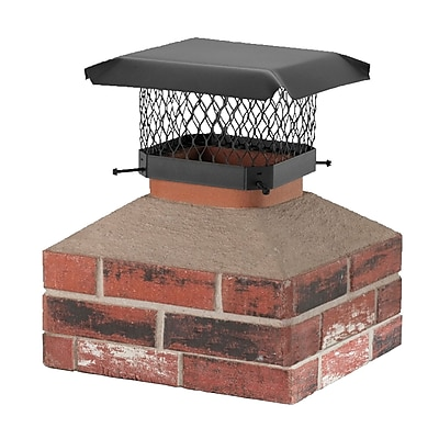 Shelter Shelter Galvanized Steel Chimney Cap; 7.75''