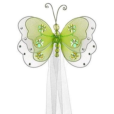 The Butterfly Grove Sasha Butterfly Curtain Tieback; Green Honeydew