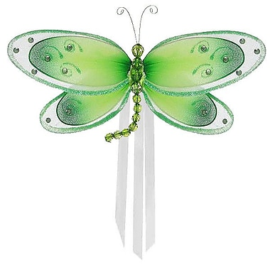 The Butterfly Grove Avery Dragonfly Curtain Tieback; Green Honeydew