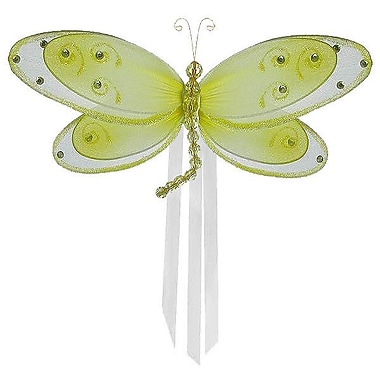 The Butterfly Grove Avery Dragonfly Curtain Tieback; Yellow Daffodil
