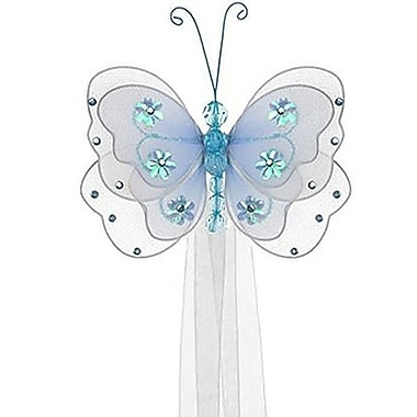 The Butterfly Grove Sasha Butterfly Curtain Tieback; Hawaiian Blue