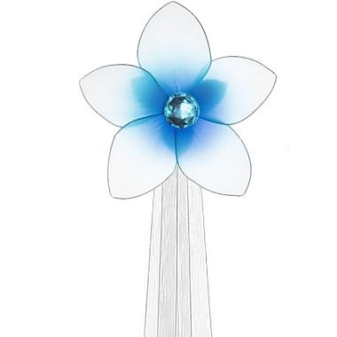 The Butterfly Grove Makena Flower Curtain Tieback; Hawaiian Blue