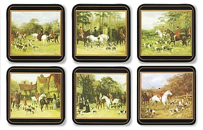 Pimpernel Tally Ho Coaster Set (Set of 6) WYF078277895847