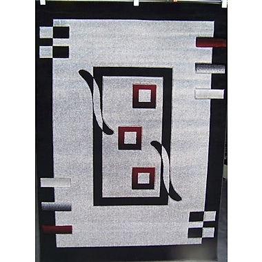 Persian-rugs Avalon Modern Gray Area Rug; 7'6'' x 10'6''