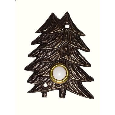 Buck Snort Lodge Twin Pines Door Bell; Oil Rubbed Bronze