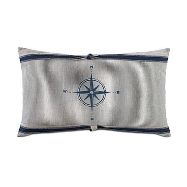 Hen Feathers Nautical All Directions Lumbar Pillow
