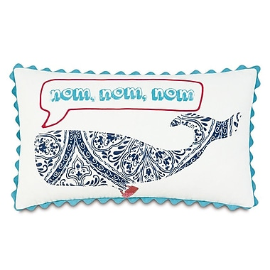Hen Feathers Epic Preppy Nom Lumbar Pillow