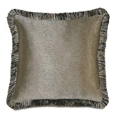 Hen Feathers Monet Dunaway Brush Fringe Throw Pillow