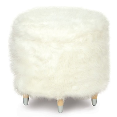 Hen Feathers Epic Splash Yolo Shoe Storage Ottoman