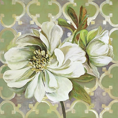 Portfolio Canvas Flora Pattern I by Sandy Doonan Painting Print on Wrapped Canvas