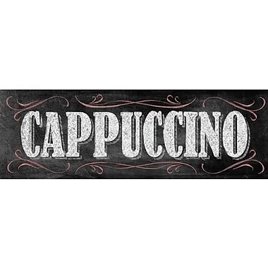 Portfolio Canvas Chalkboard - Cappuccino by IHD Studio Textual Art on Wrapped Canvas