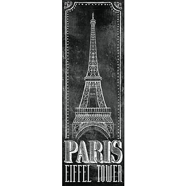 Chalkboard - Eiffel Tower 2 by IHD Studio 2 Piece Painting Print on Wrapped Canvas Set