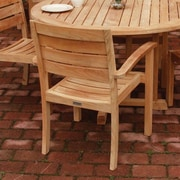 Three Birds Casual Sedona Stacking Patio Dining Chair (Set of 2); Set of 4