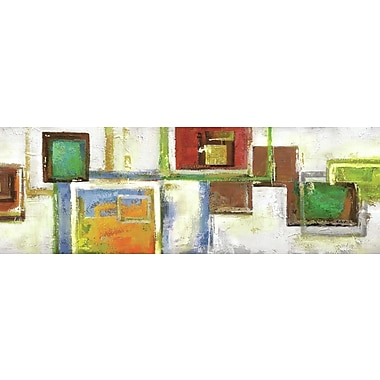 Portfolio Canvas Cubist Sequence I by Sandy Doonan Painting Print on Wrapped Canvas