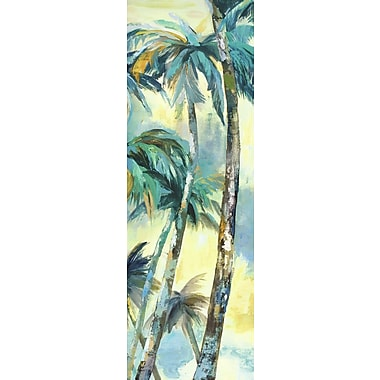 Portfolio Canvas Dancing Palms Panel I by Sandy Doonan Painting Print on Wrapped Canvas