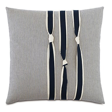 Hen Feathers Nautical Knots Down Throw Pillow