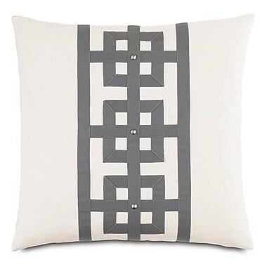 Hen Feathers Modern Asian Tranquil Row Throw Pillow