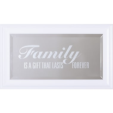 Art Effects Family Is A Gift Wall Mirror