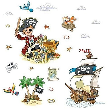 Fun To See Pirates Themed Wall Decal