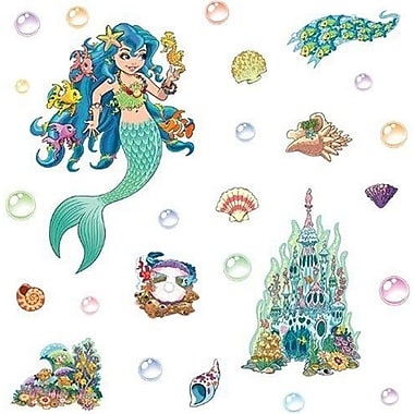 Fun To See Mermaid Themed Wall Decal