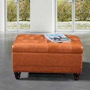 NOYA USA Storage Bench; Brown