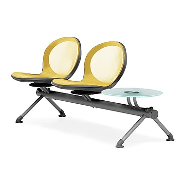OFM Net Series 2 Seats and 1 Table Beam, Yellow (845123027035)