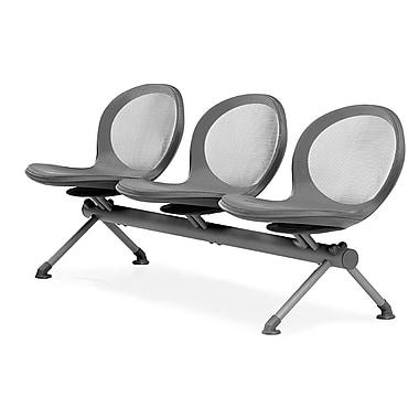 OFM – 3 sièges en rangée de gamme Net, gris (845123026786)
