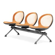 OFM Net Series 3 Seat Beam, Orange (NB-3-ORANGE)