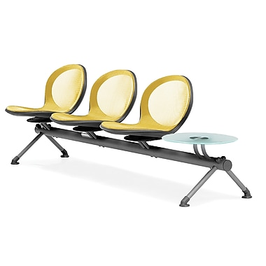 OFM Net Series Three Seats and One Table Beam, Skyblue (NB-4G-SKYBLUE)