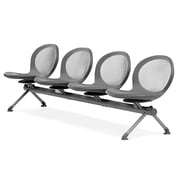 OFM Net Series 4 Seat Beam, Gray (NB-4-GRAY)