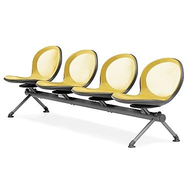 OFM Net Series 4 Seat Beam, Yellow (845123026892)