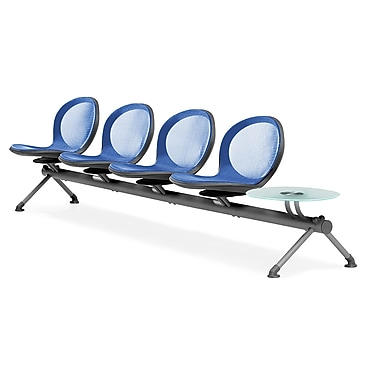 OFM Net Series Four Seats and One Table Beam, Marine (NB-5G-MARINE)