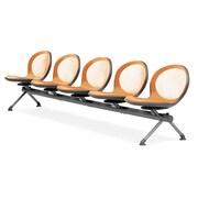 OFM Net Series Five-Seat Beam, Orange (NB-5-ORANGE)