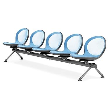 OFM – 5 sièges en rangée de série Net, bleu ciel (845123026953)
