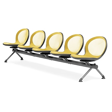 OFM – 5 sièges en rangée de série Net, jaune (845123026960)