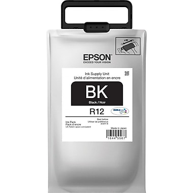 Epson - Cartouche d'encre noir DuraBrite (TR12120)
