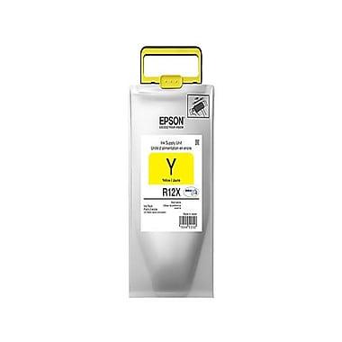 Epson - Cartouche d'encre jaune DuraBrite (TR12X420), grande capacité