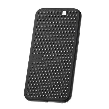 HTC – Étui Dot View I pour One M9, noir onyx/gris