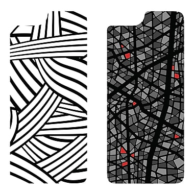 OtterBox – Étui MySymmetry pour iPhone 6, corde loufoque/mosaïque grise, paq./2