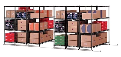 OFM X5 Lite Six Four-Shelf Units, 36